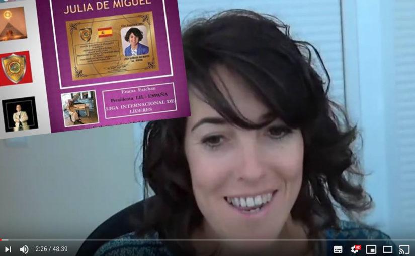 Mi entrevista con Emma Garcia de la Liga Internacional de Lideres